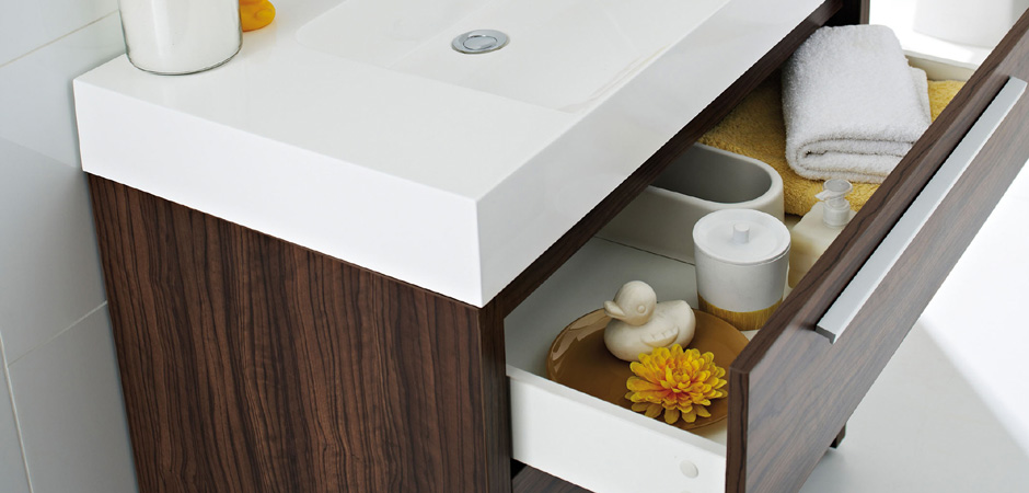 Clever yet beautifully designed bathroom furniture from Ultra