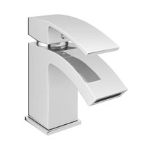 Summit Cloakroom Tap with Waste - Chrome Medium Image
