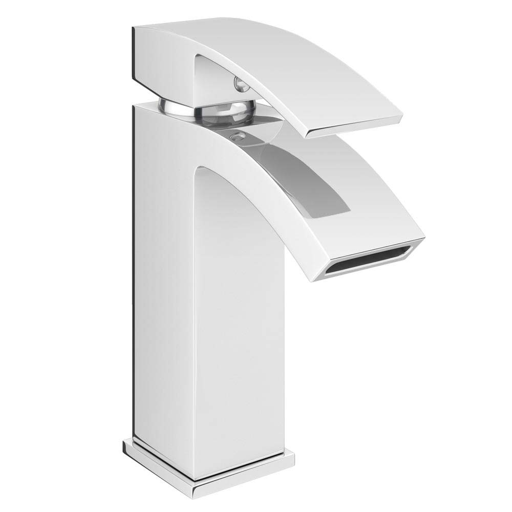 Summit Mono Basin Mixer with Waste - Chrome profile large image view 1