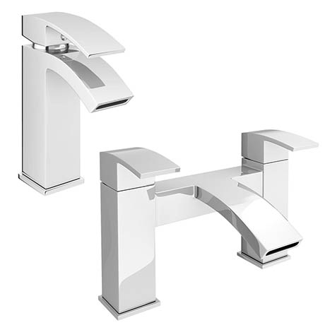 Summit Modern Tap Package (Bath + Basin Tap)