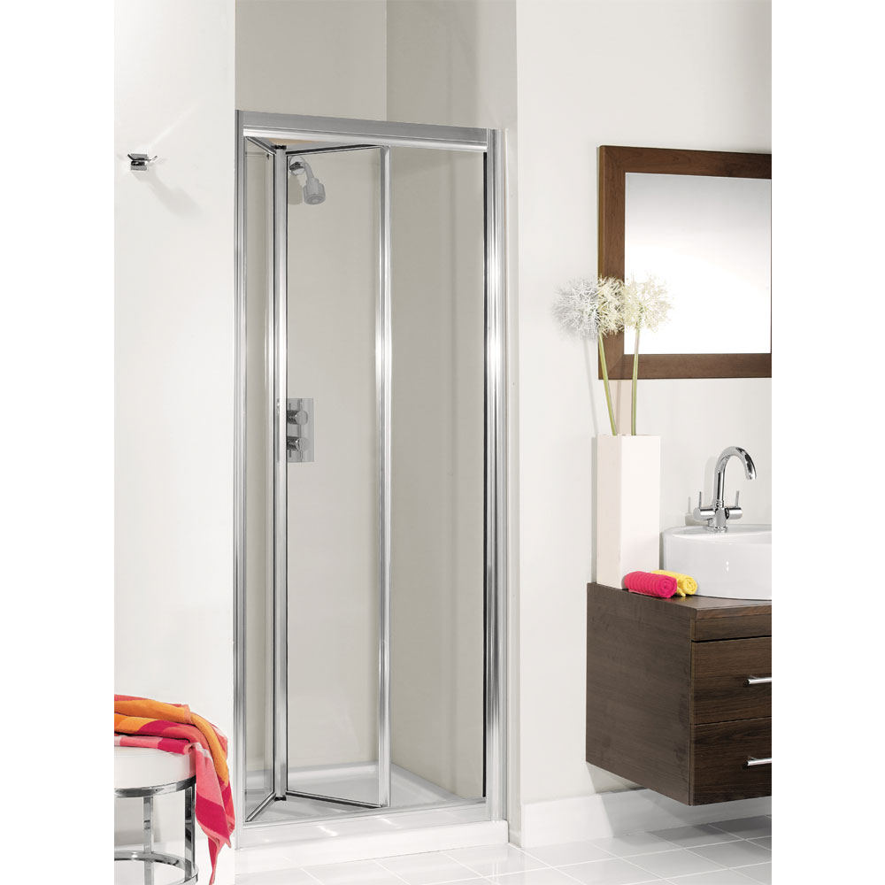 Simpsons - Supreme Bifold Shower Door - 5 Size Options Large Image