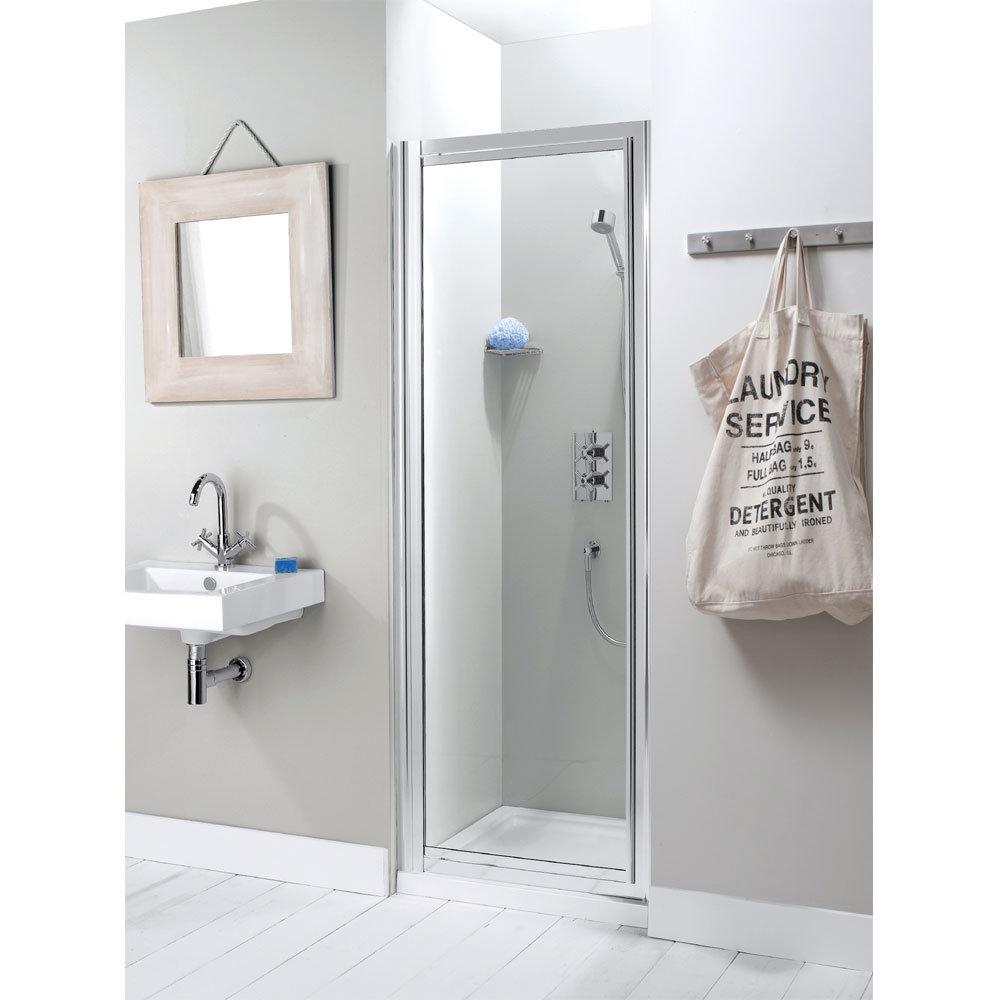 Simpsons - Supreme Pivot Shower Door - Various Size Options Large Image