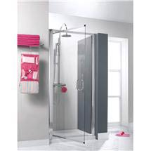 Simpsons - Supreme Luxury Pivot Shower Door - 3 Size Options Medium Image