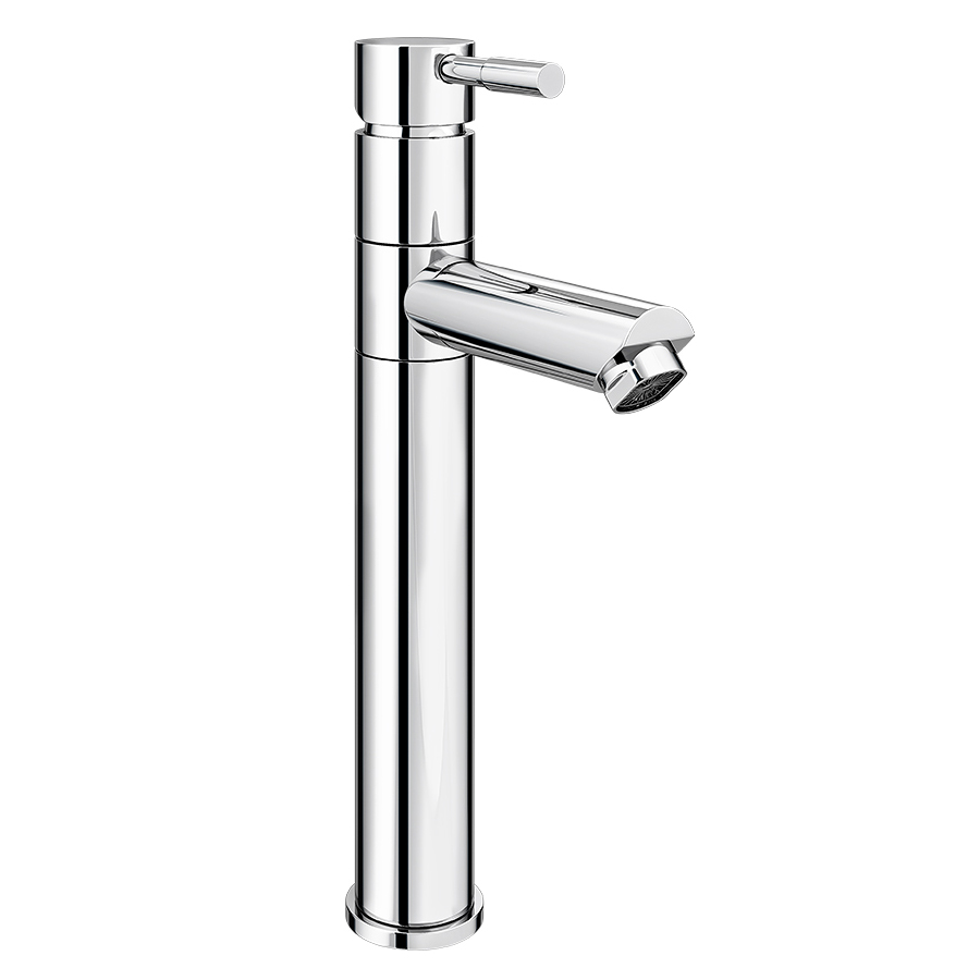 Swift High Rise Basin Mixer with Round Counter Top Basin Standard Large Image