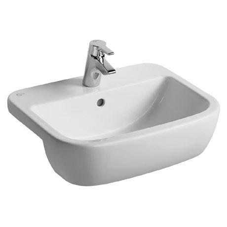 Ideal Standard Tempo 55cm 1TH Semi-Countertop Washbasin