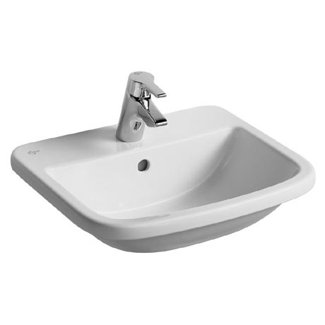 Ideal Standard Tempo 55cm 1TH Inset Countertop Basin