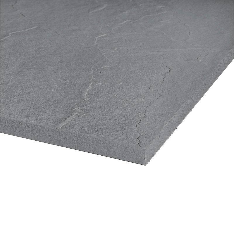 Merlyn Truestone Rectangular Shower Tray - Fossil Grey profile large image view 3