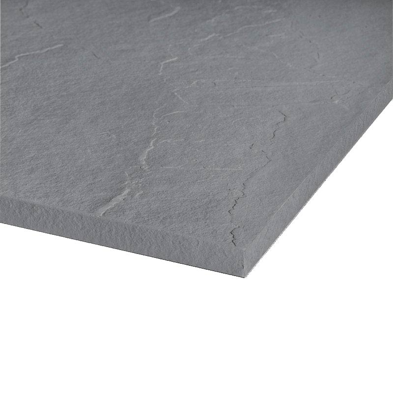 Merlyn Truestone Square Shower Tray - Fossil Grey - 900 x 900mm profile large image view 2