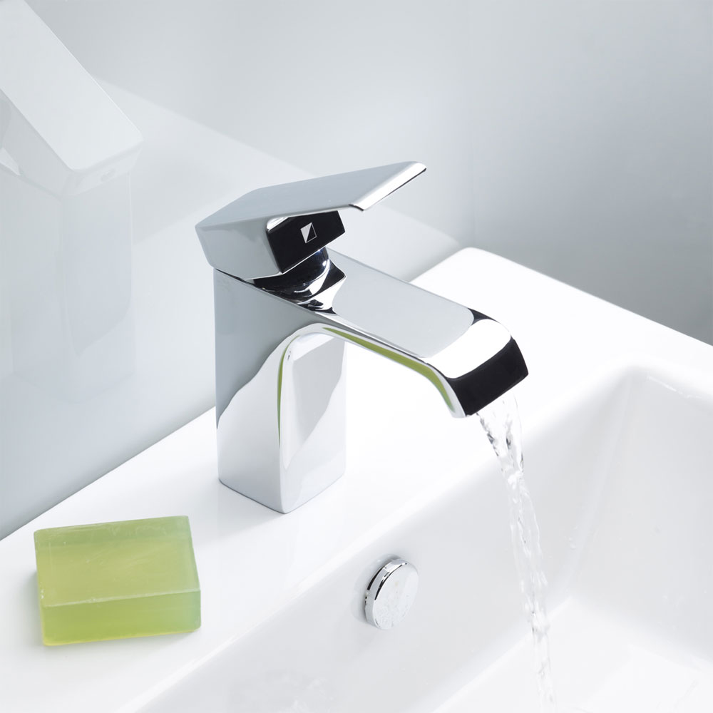 Roper Rhodes Hydra Basin Mixer with Clicker Waste - T151102 profile large image view 3