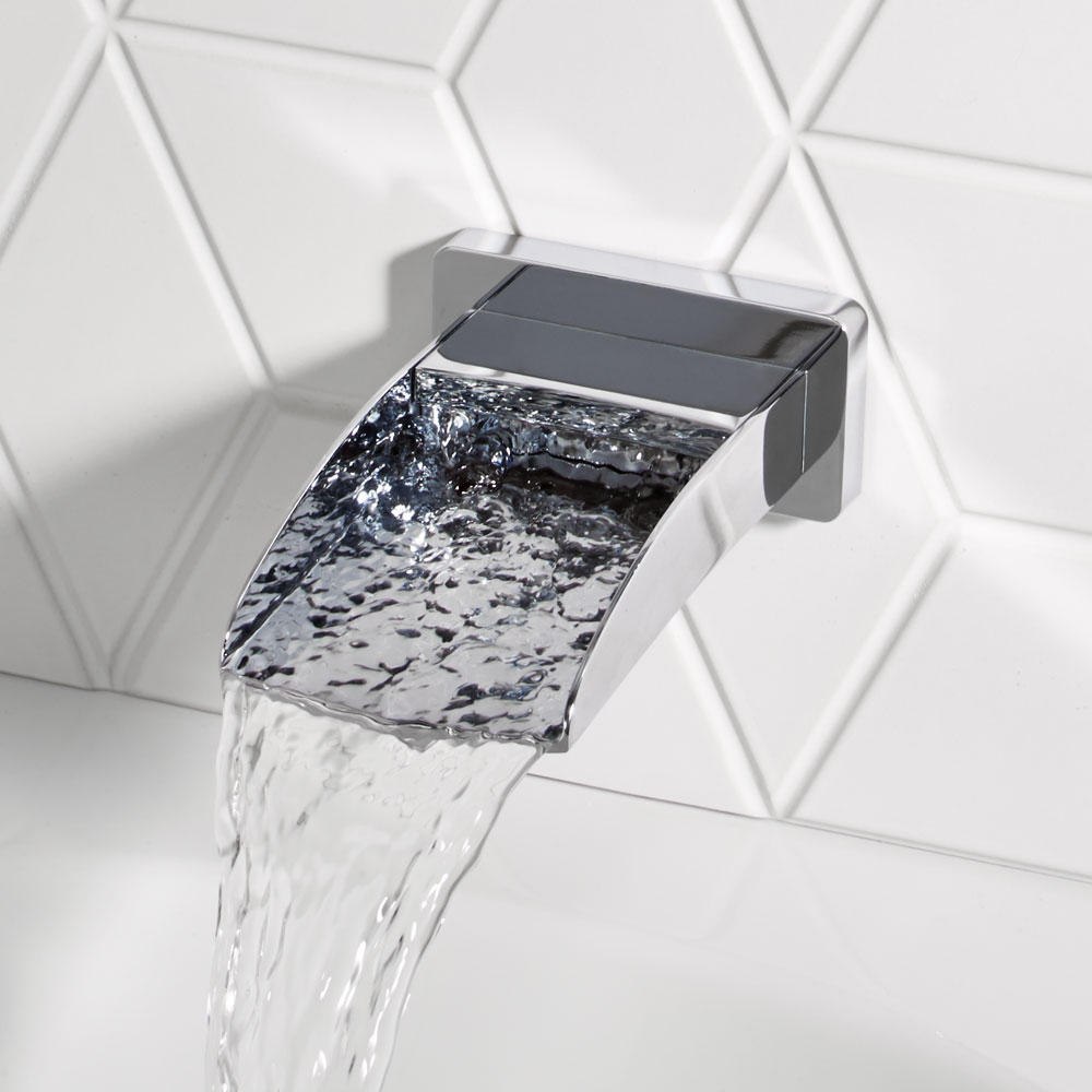 Roper Rhodes Sign Wall Mounted Bath Spout - T171402 profile large image view 2