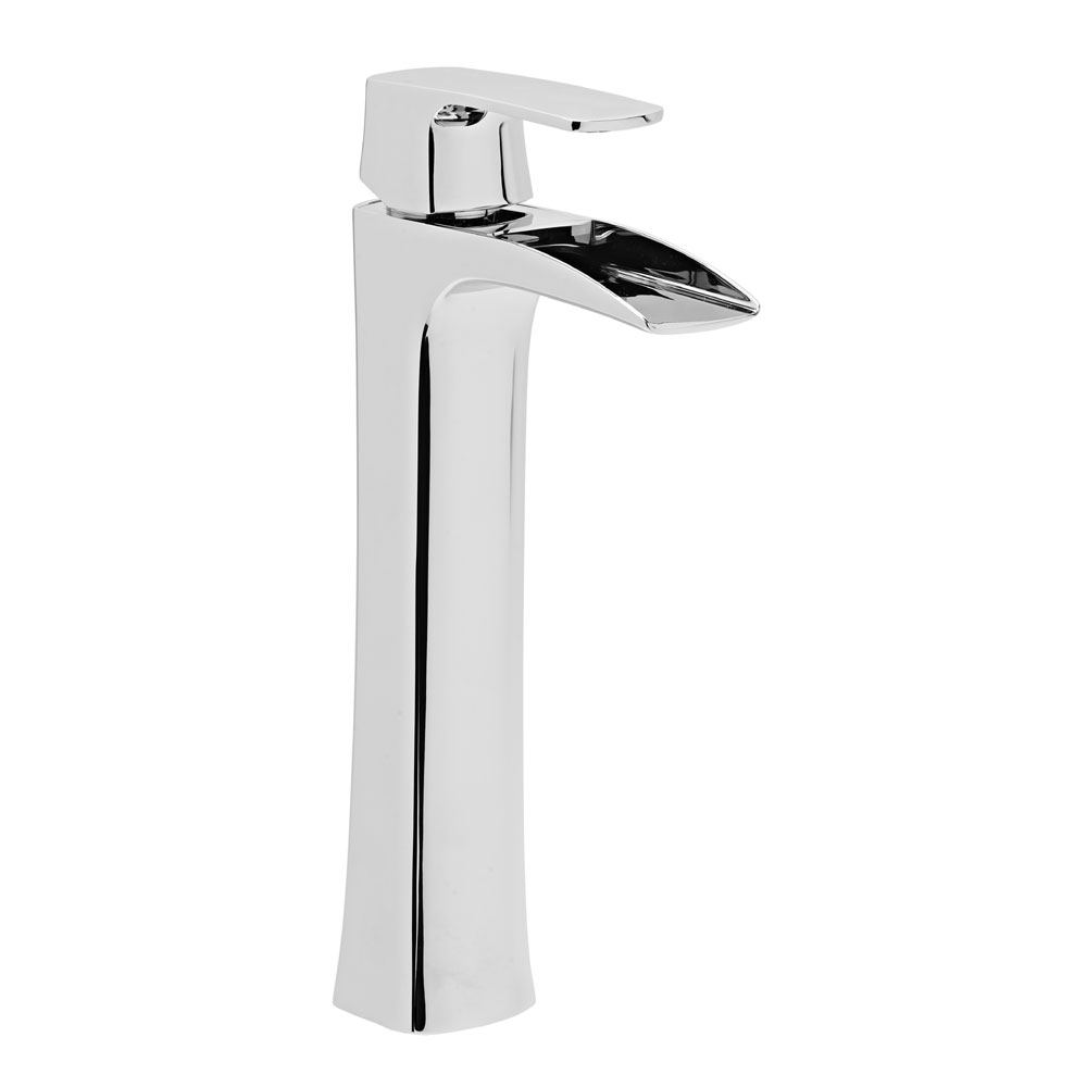 Roper Rhodes Sign Tall Basin Mixer with Clicker Waste - T175002 Large Image