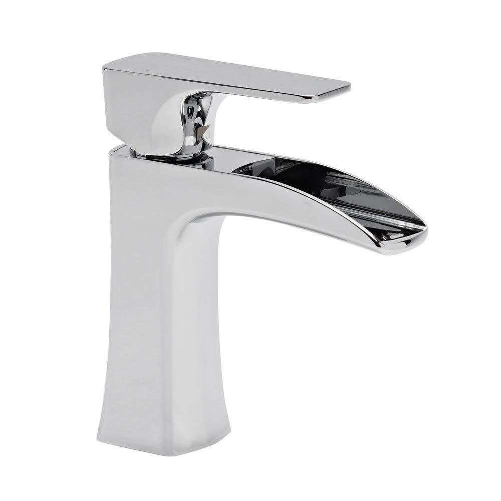 Roper Rhodes Sign Open Spout Mini Basin Mixer - T176102 Large Image