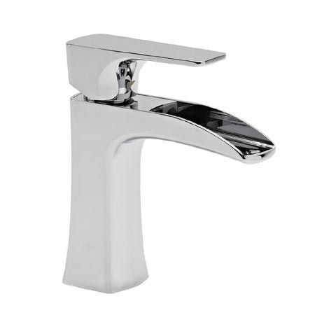 Roper Rhodes Sign Open Spout Mini Basin Mixer - T176102