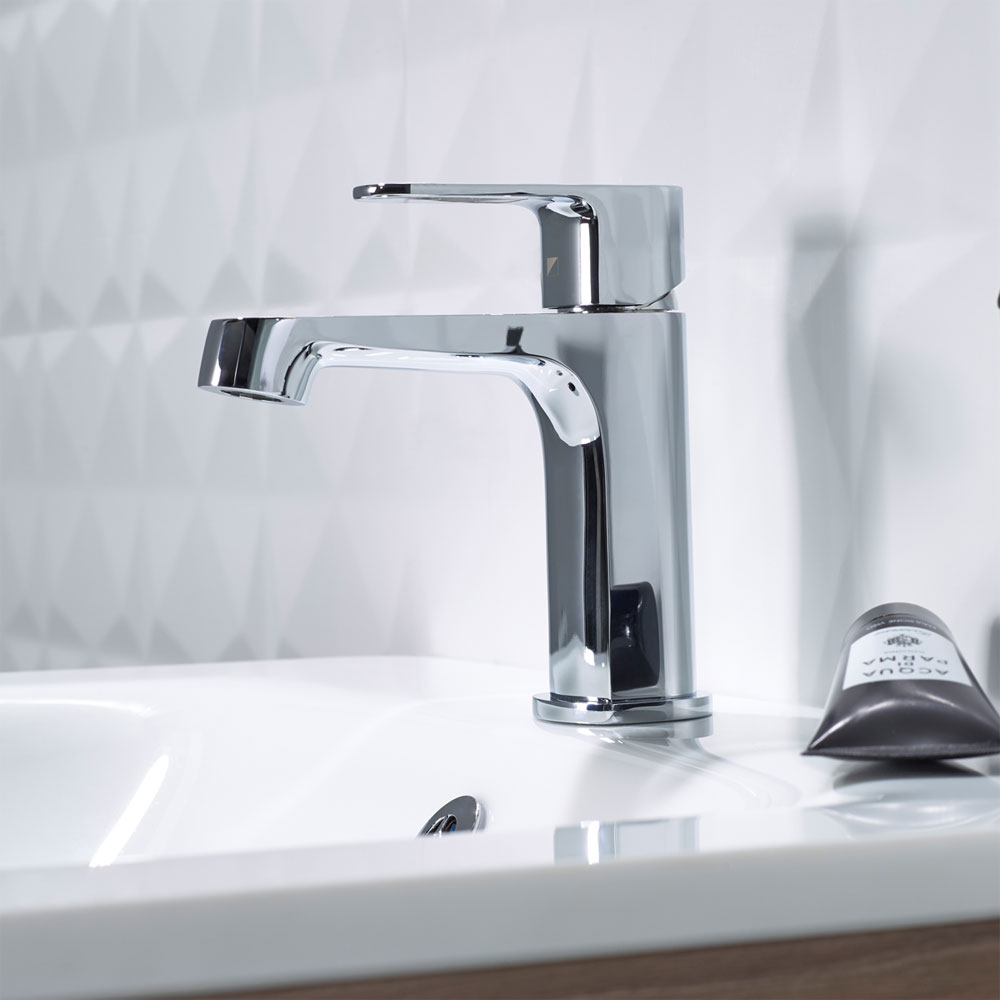 Roper Rhodes Image Basin Mixer with Clicker Waste - T181102 profile large image view 2