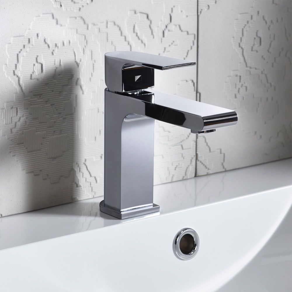 Roper Rhodes Code Basin Mixer with Clicker Waste - T191102 profile large image view 2