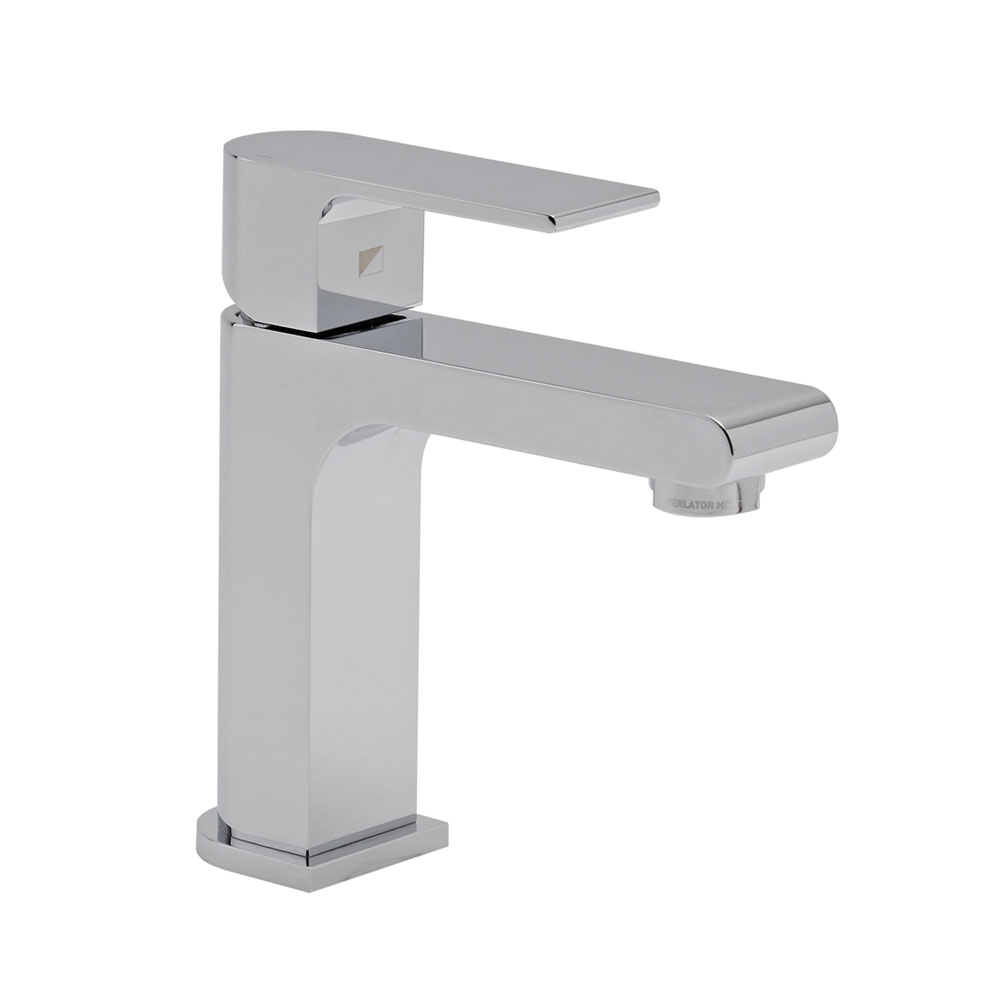 Roper Rhodes Code Mini Basin Mixer with Clicker Waste - T196102 Large Image