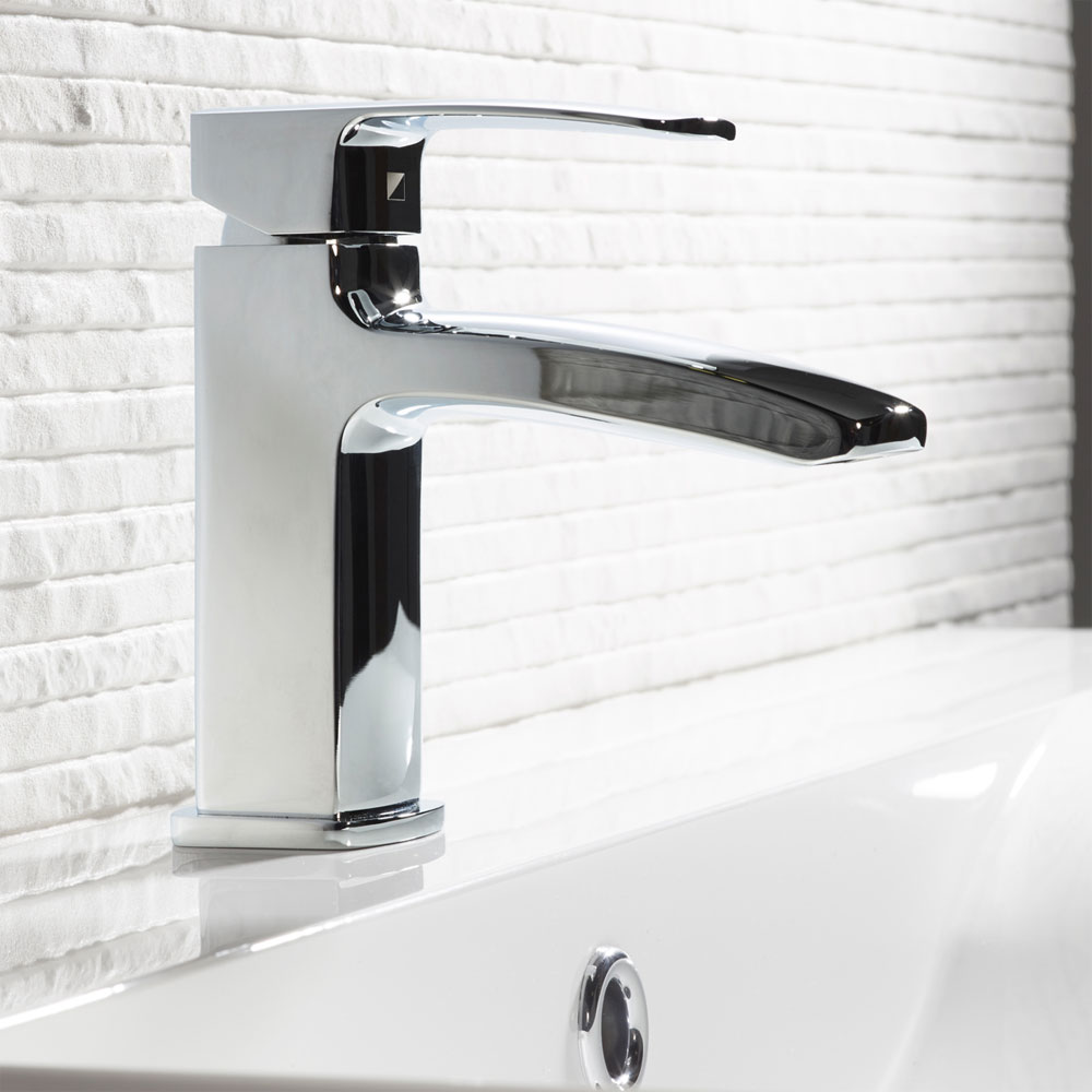 Roper Rhodes Sync Basin Mixer with Clicker Waste - T201102 profile large image view 2