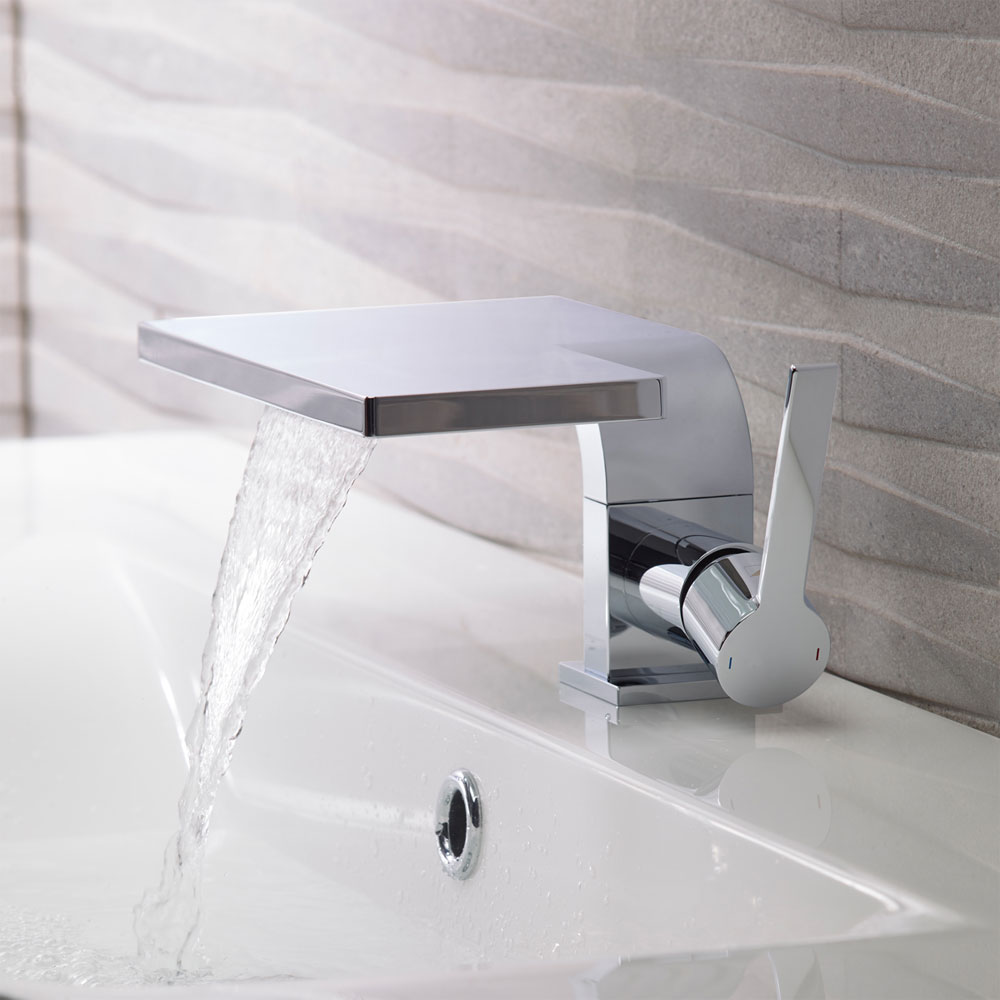 Roper Rhodes Zeal Basin Mixer with Clicker Waste - T211102 Profile Large Image