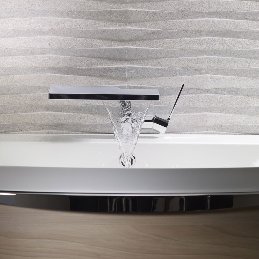 Roper Rhodes Zeal Basin Mixer with Clicker Waste - T211102 Feature Large Image