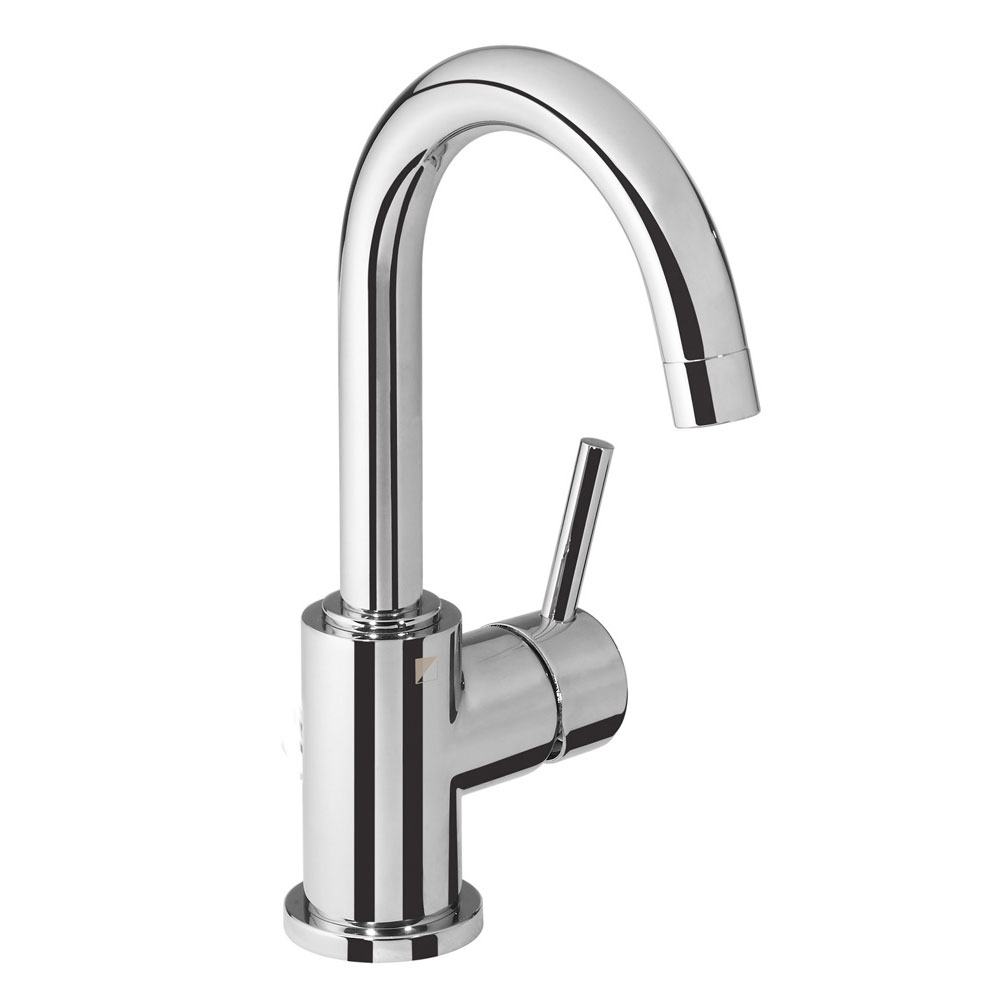 Roper Rhodes Storm Side Action Basin Mixer with Clicker Waste - T221602 Large Image
