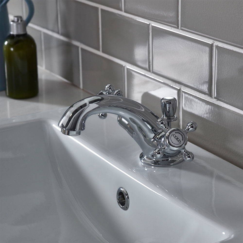 Roper Rhodes Henley Basin Mixer Tap with Pop Up Waste - T261102 Profile Large Image