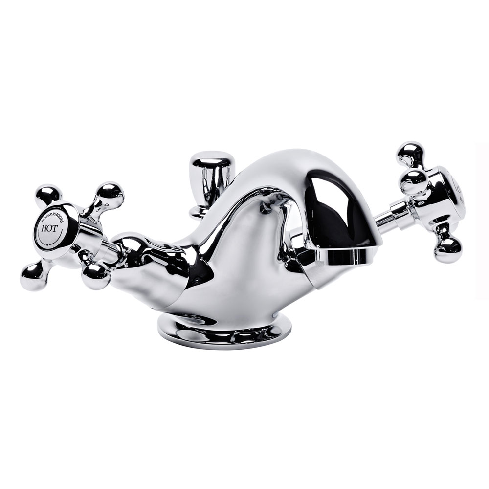 Roper Rhodes Henley Basin Mixer Tap with Pop Up Waste - T261102 Large Image
