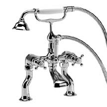 Roper Rhodes Henley Bath Shower Mixer with Handset - T264202 Medium Image