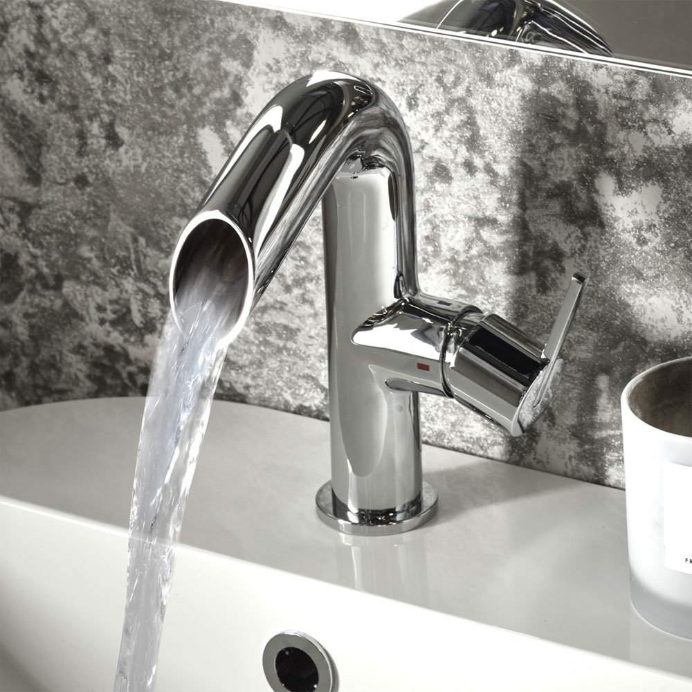 Roper Rhodes Scope Open Spout Basin Mixer - T281102 profile large image view 2