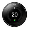 Nest Black Learning Thermostat 3rd Generation profile small image view 1