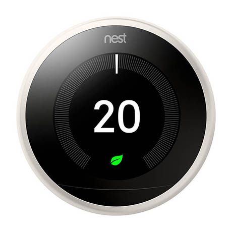 Nest White Learning Thermostat 3rd Generation