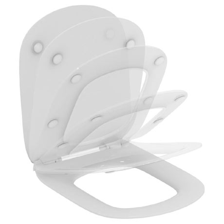 Ideal Standard Tesi Soft Close Thin Toilet Seat & Cover