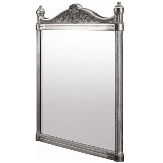 Burlington Georgian Mirror with Aluminium Frame - T37ALU Large Image