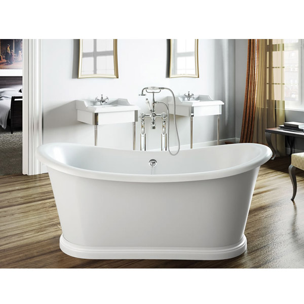 Clearwater - Boat 1650 x 705 Traditional Freestanding Bath - T5C Feature Large Image