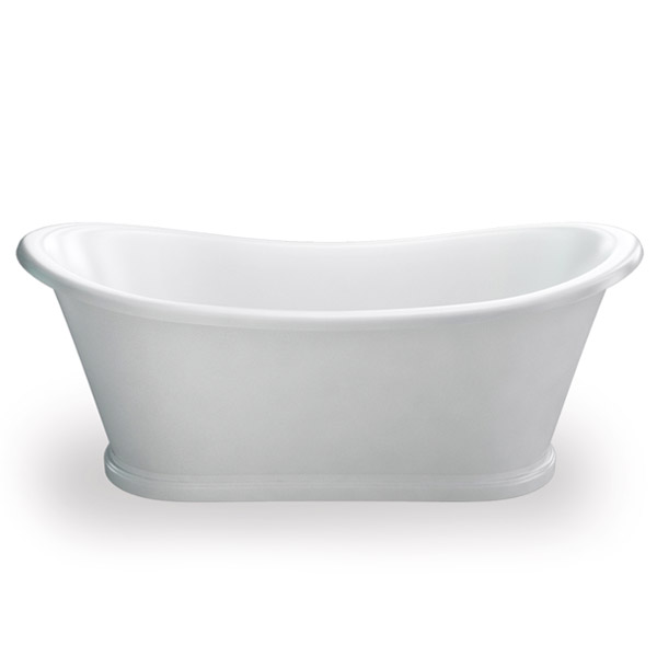 Clearwater - Boat 1650 x 705 Traditional Freestanding Bath - T5C Large Image