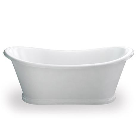 Clearwater - Boat 1650 x 705 Traditional Freestanding Bath - T5C