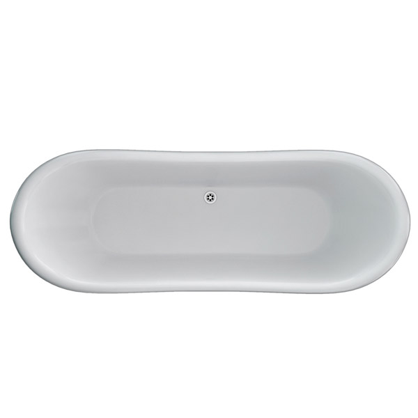 Clearwater - Boat 1800 x 885 Traditional Freestanding Bath - T6C profile large image view 2