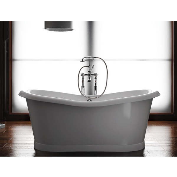 Clearwater - Boat 1800 x 885 Traditional Freestanding Bath - T6C profile large image view 3