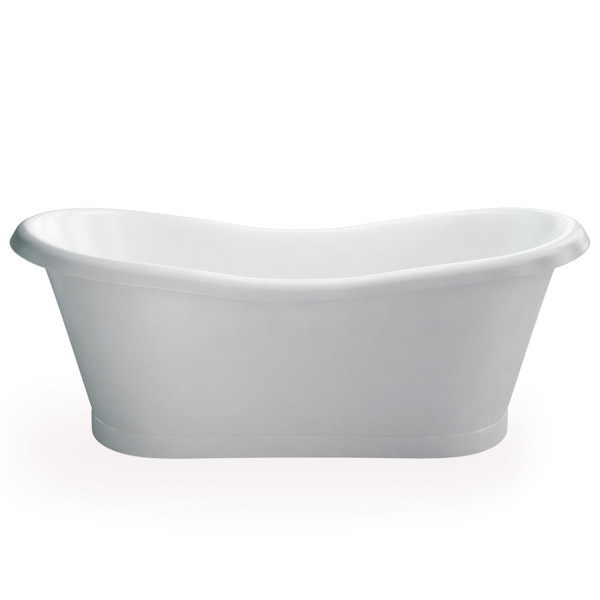 Clearwater - Boat 1800 x 885 Traditional Freestanding Bath - T6C Large Image