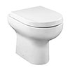 Crosswater Contract BTW Pan & Soft Close Seat profile small image view 1