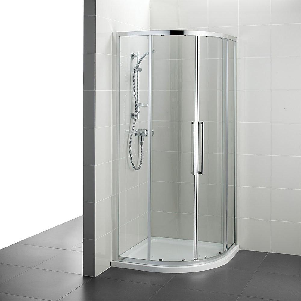 Ideal Standard Kubo 900 x 900mm Quadrant Shower Enclosure - T7351EO