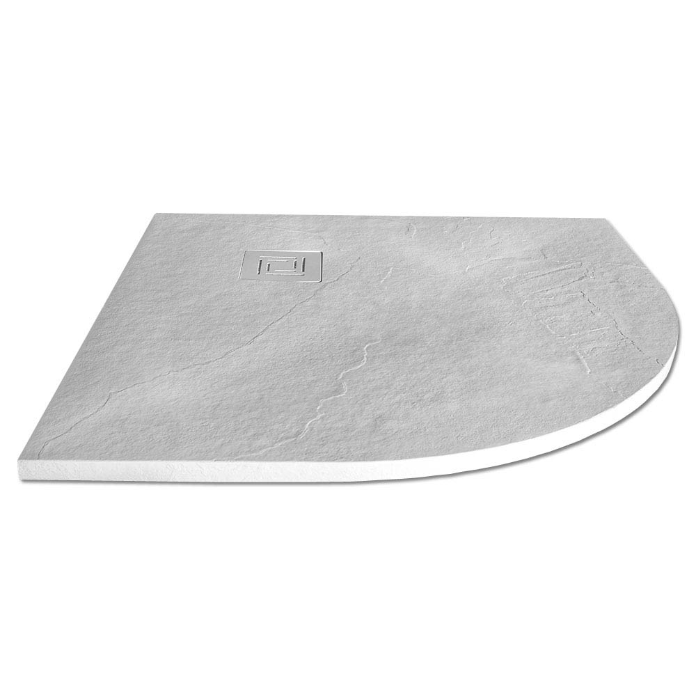 Merlyn Truestone Quandrant Shower Tray - White - 900 x 900mm Large Image