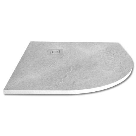 Merlyn Truestone Quandrant Shower Tray - White - 900 x 900mm