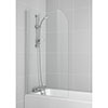 Ideal Standard Connect Radius Bath Screen (1400 x 800mm) - T9924EO profile small image view 1