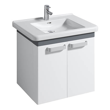 Twyford All 650mm Two Door Vanity Unit with 750mm Basin