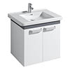 Twyford All 650mm Two Door Vanity Unit with 750mm Basin profile small image view 1
