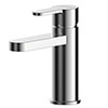 Asquiths Sanctity Mono Basin Mixer With Push-Button Waste - TAA5102 profile small image view 1