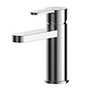Asquiths Sanctity Mini Mono Basin Mixer With Push-Button Waste - TAA5106 profile small image view 1