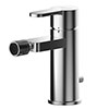 Asquiths Sanctity Mono Bidet Mixer With Pop-up Waste - TAA5110 profile small image view 1