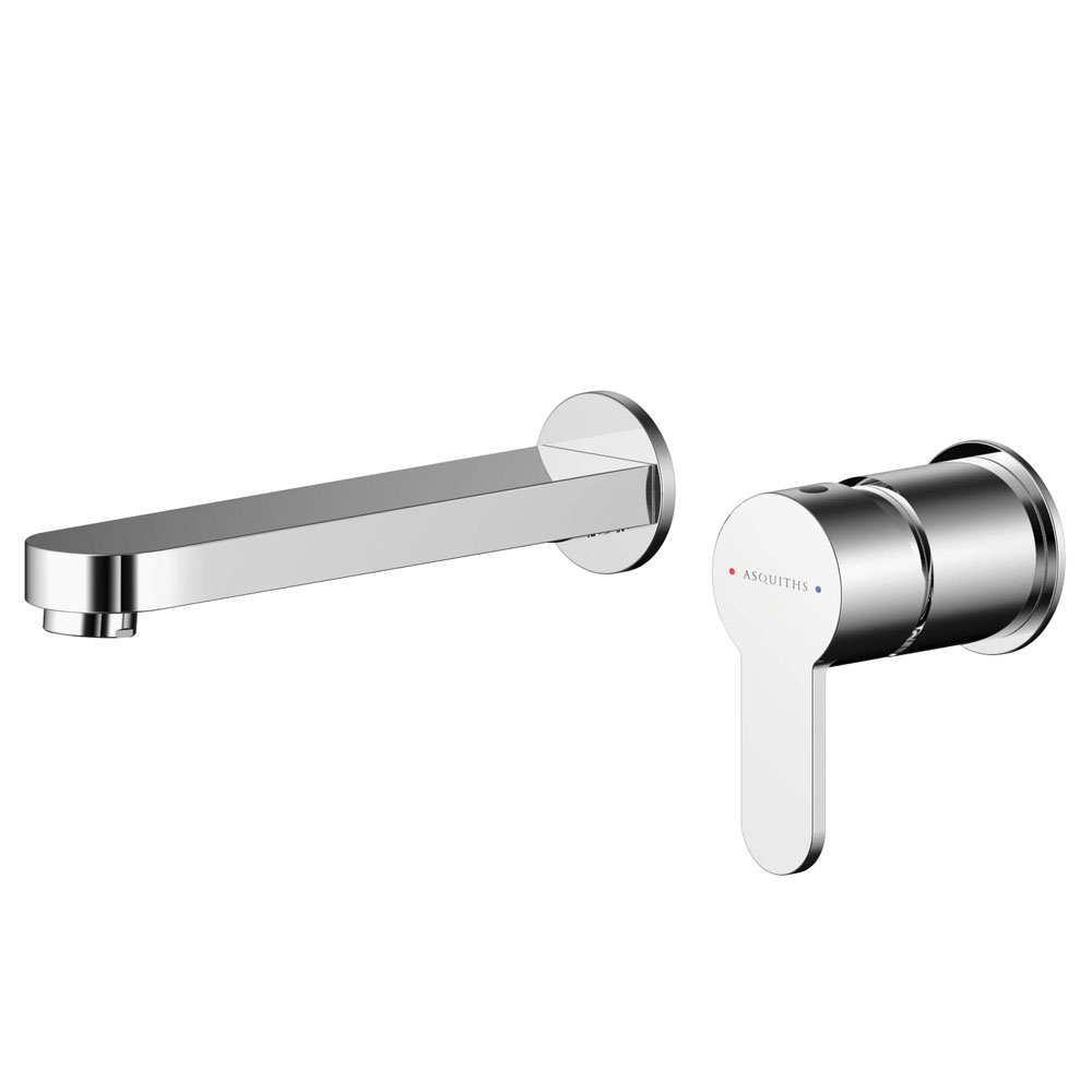 Asquiths Sanctity Wall Mounted Basin Mixer (2TH) Without Backplate - TAA5112