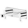 Asquiths Sanctity Wall Mounted Basin Mixer (3TH) With Backplate - TAA5115 profile small image view 1